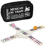 Weico Produkte 99053 - Domino Mexican Train in Tasche