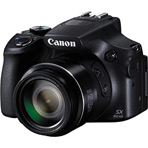 Canon PowerShot SX60 HS Digital Camera - Wi-Fi Enabled - International Version (No Warranty)
