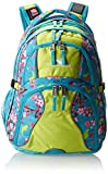 High Sierra Swerve Backpack Birds and Blossom/Tropic Teal/Chartreuse 19 x 13 x 7.75-Inch
