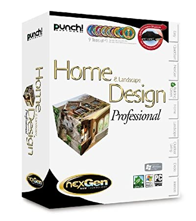 HOME & LANDSCAPE DESIGN PRO NEXGEN (WIN XPVISTA)