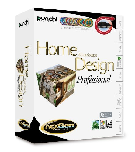 Punch! Home & Landscape Design Professional With NexGen