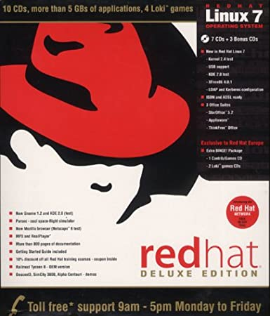 Red Hat Linux 7.0 Deluxe Edition
