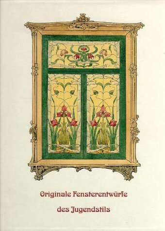 Art Nouveau Stained Glass Window Design