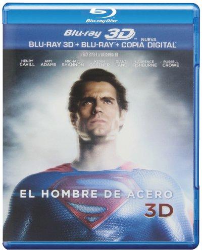 El Hombre De Acero (BD 3D + BD 2D + Copia Digital)