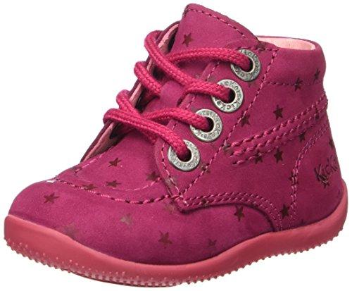 KickersBILLISTA - Scarpe da Ginnastica Basse Bambina , Rosa (Pink (132)), 26 EU