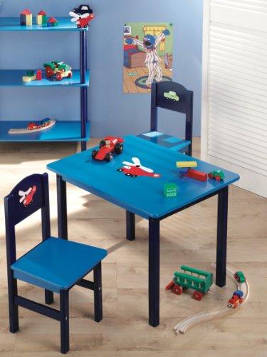 Zeller 13472 set tavolo 60x48x45 cm e sedie 28x26x54 cm - Tavolo e sedie bambini ...