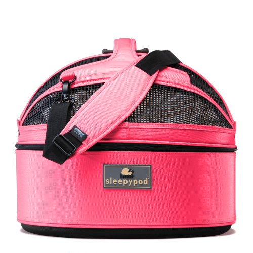 Sleepypod Medium Mobile Pet Bed - Blossom Pink - dog carriers and dog strollers :  dog carriers pets dogs