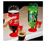 Hot New Red Cool Coke Fizzy Soda Drinking Dispense Gadget Cool Dispenser