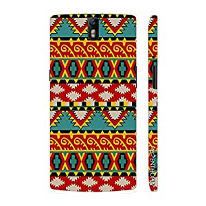 Enthopia Designer Hardshell Case Aztec Twelve Back Cover for One Plus One