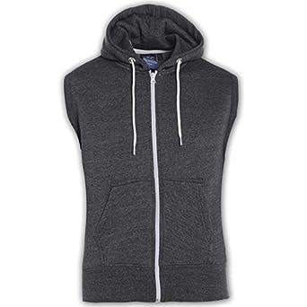 Amazon.com: Kids Girls Boys Plain Gilet Fleece Hoodie Zipper