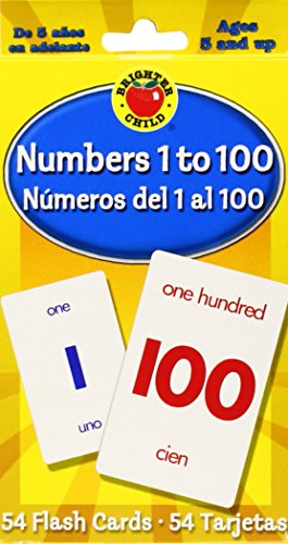 Numbers 1 To 100 / Numeros del 1 al 100 (Brighter Child Flash Cards)