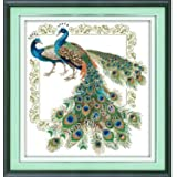 Happy Forever Cross Stitch, Animals, Auspicious peacock
