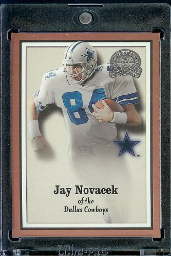 2000 Fleer Greats of the Game Football Karte # 75 Jay Novacek Dallas Cowboys Neuwertiger Zustand -