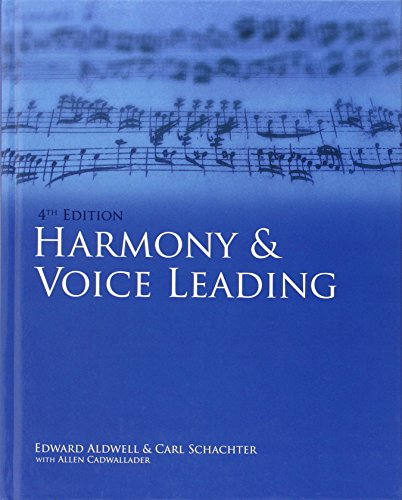 Harmony & Voice Leading (4th edition)