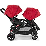 Contours Options Tandem Baby Stroller - Red
