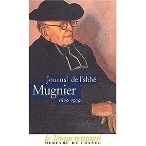 Journal de l'abbé Mugnier, 1879-1939