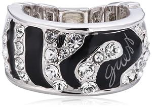 Guess Damen-Ring Metalllegierung Zirkonia Rundschliff transparent Gr. 48 (15.3) - UBR71201-L