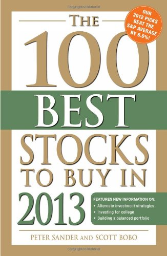 The 100 Best Stocks To Buy In 2013 front-730915