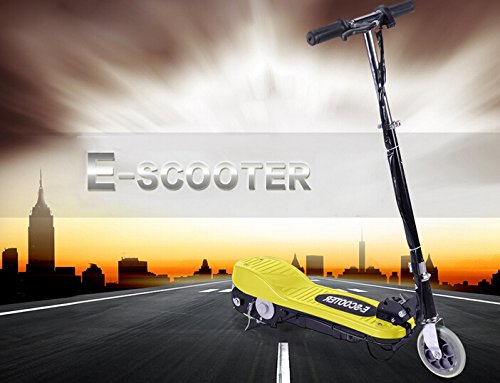 Zupapa Electric Scooters Motorized Scooter Bike Yellow