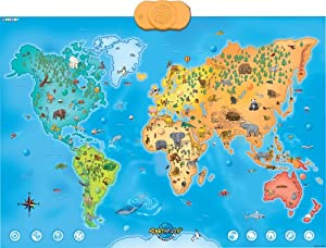 Zanzoon Animap - Interactive Talking Animals of the World Map