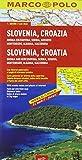 Slovenia, Croazia, Bosnia-Erzegovina, Serbia, Kossovo, Montenegro, Albania, Macedonia 1:800.000