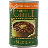 Amy's Light in Sodium Organic Medium Chili, 14.7-Ounce Cans (Pack of 12) ~ Amy's Organic