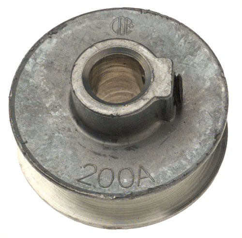 "Chicago Die Cast Single V Grooved Pulley A Section Belt Width 2 "" Dia X 1/2 "" Bore Bulk"