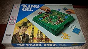 King Oil 1974 Board Game