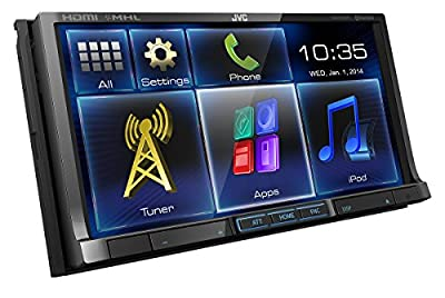 JVC KW-V50BTE inkl. Anschlusskabel und Samsung MHL-Adapter