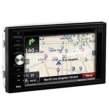 Boss BV9384NV 6.2 2-DIN In-Dash DVD/MP3 Car Receiver with Navigation and Bluetooth