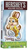 Hershey's Easter Solid Milk Chocolate Bunny, Speedy, 5-Ounce Packages (Pack of 4)