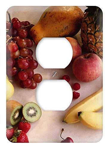 WaPlate - Fruits - Switch Plate Outlet Cover (Grape Light Switch Cover compare prices)