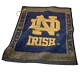 NCAA Notre Dame Woven Team Golf Towel at Amazon.com