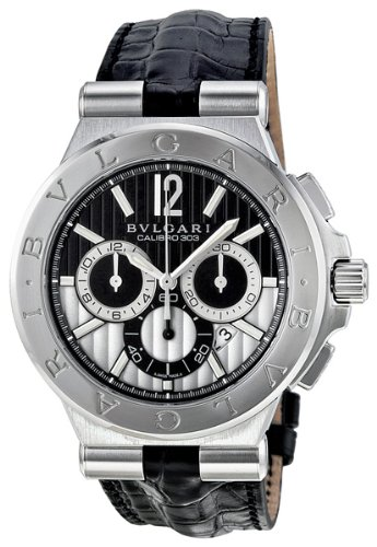 Bvlgari Diagono Calibro 303 Chronograph Automatic Mens Watch DG42BSLDCH