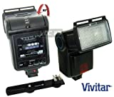 Vivitar SF4000 Bounce Zoom Slave Flash Enhance Photos - Colors & Saturation For The Nikon D5000 - D3000 Digital SLR Cameras