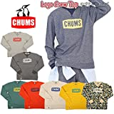 (チャムス) chums トレーナー Logo Crew Top ロゴクルートップ メンズ CH00-1002 L HeatherGrey