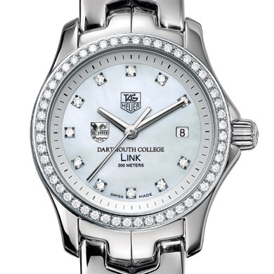 Dartmouth Women's TAG Heuer Link with Diamond Bezel