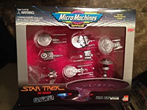 Micro Machines Space - Star Trek the Movies Collectors Edition