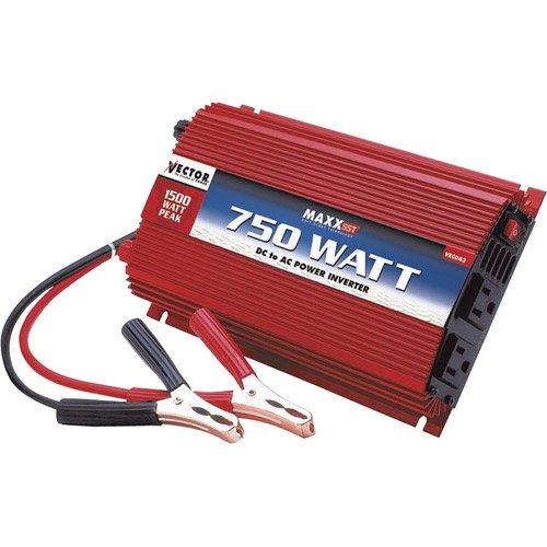 Vector VEC043B 750 Watt D/C To A/C Power Inverter With Power Level Meter