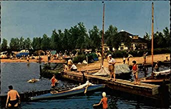 Paviljoen t Wiede Wanneperveen, Netherlands Original Vintage Postcard