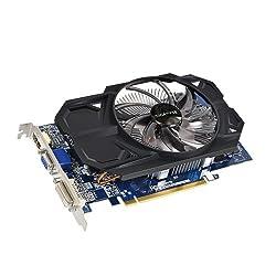 Gigabyte AMD Radeon R7 250 2GB DDR3 Graphics Card ( GV-R725OC-2GI ) PCI-E 3.0 / 2GB / DDR3 / 128 bit / D-SUB / Dual-Link DVI-D / HDMI / OC Edition / Single FAN