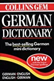 Collins Gem German Dictionary:  German-English, English-German (0004707478) by HarperCollins