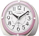 CITIZEN(リズム時計) ハッキリ・スッキリ電波目覚し ネムリーナマロンF 白パール色 4RL431-N13