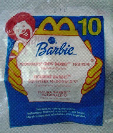 McDonald's Crew Barbie - 2000 McDonalds Toy