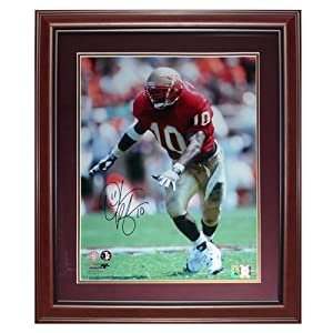 Derrick Brooks Autographed FSU Florida State Seminoles Deluxe Framed 16x20 Photo -... by PalmBeachAutographs.com