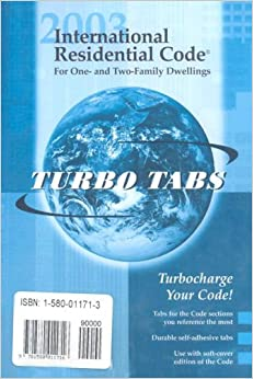 International Residential Code 2003 Tabs Tabs For