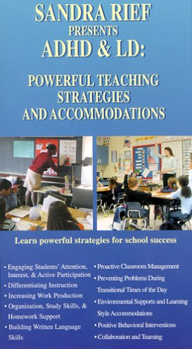 ADHD & LD: Powerful Teaching Strategies and Accommodations [VHS]