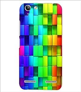 PrintDhaba Pattern D-2433 Back Case Cover for LENOVO LEMON 3 (Multi-Coloured)