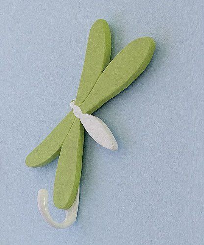 Dragonfly Wall Hooks For Nursery Kids Boys Girls Room Wall Hanging Decor