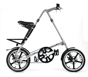 Strida LT Folding Bike, Silver